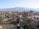 Botevgrad from above